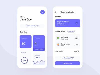 Daily UI 46 — Invoice