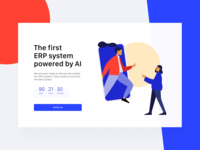 Daily UI 48 — Coming Soon