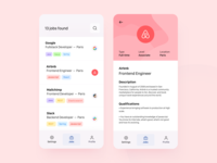 Daily UI 50 — Job Listing