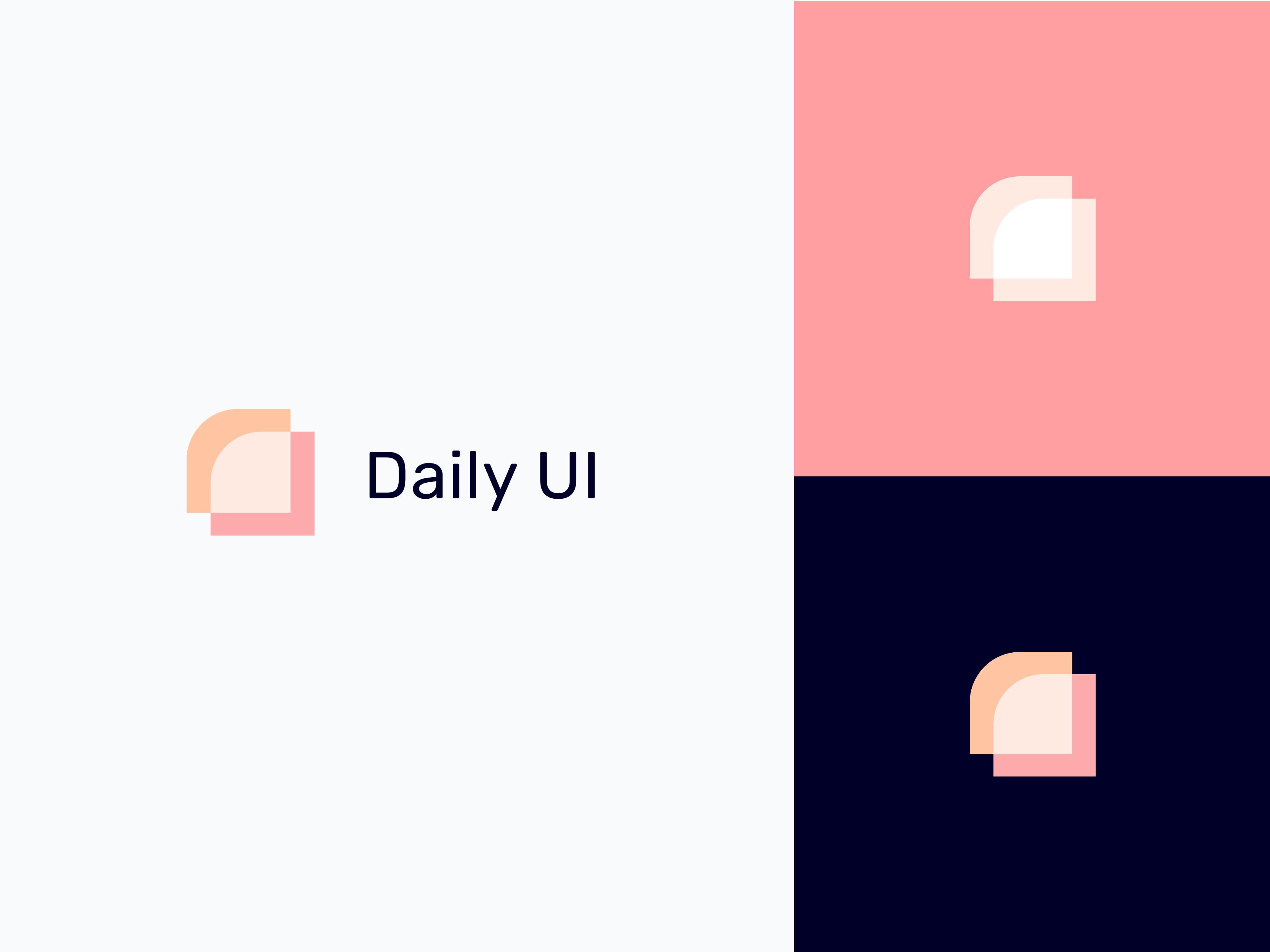 Daily ui 52    daily ui logo
