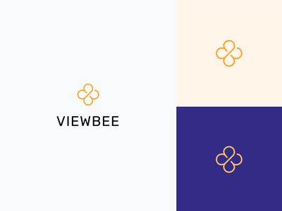 Viewbee Logotype logotype design vector branding icon typography logo
