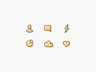 Daily UI 55 — Icon Set