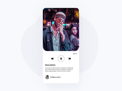 Daily UI 57— Video Player app video player video daily ui challenge design ui dailyui