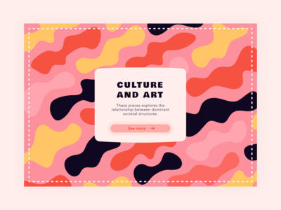 Daily UI 59 — Background Pattern