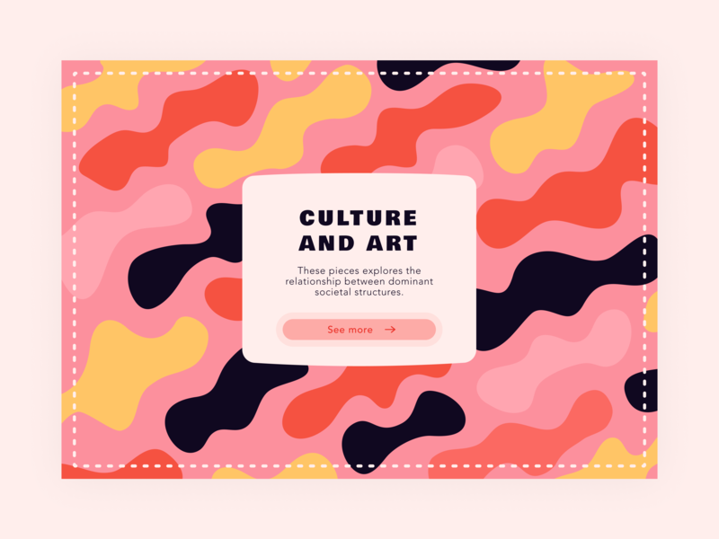 Daily UI 59 — Background Pattern 059 background shapes gemometrical pattern typography web colorful vector branding daily ui challenge design ui dailyui