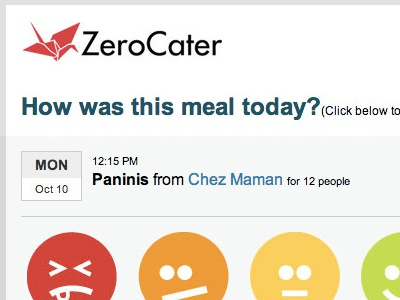 Zerocater Rating Email ratings email zerocater