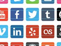 Socialicious Icon Set