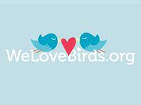 We Love Birds Logo