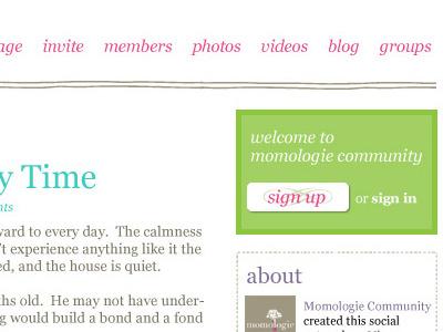 Momologie community
