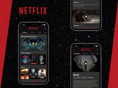 Netflix UI Concept
