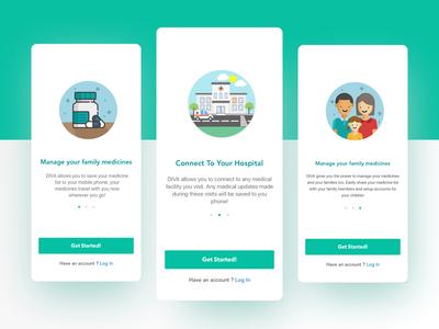 Onboarding Medical App UI