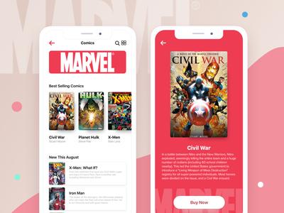 Comic Book App