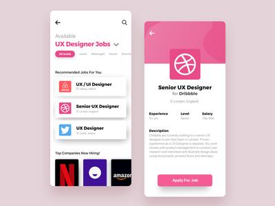 Jobs Listing App