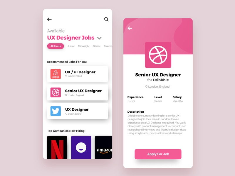 Job Search Designs Themes Templates And Downloadable Graphic Elements On Dribbble