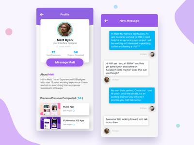 User Profile Concept