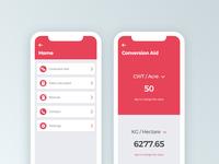 Mobile App Unit Converter
