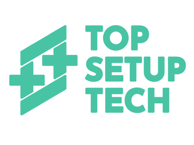 Top Setup Tech Logo Mockup tech mockup logo icon flat gimp photoshop