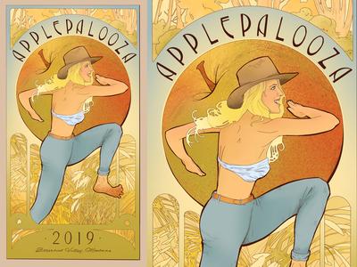 Applepalooza Poster