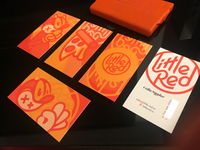 Little Red business cards