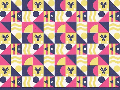 Geometric Pattern playoff waves beach summer sun pattern geometric