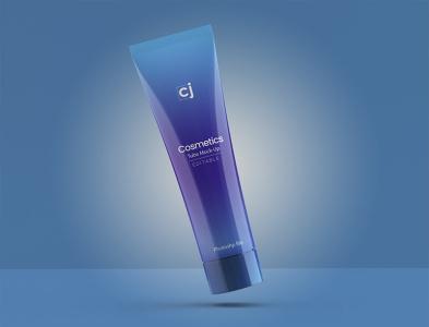 Cosmetic Tube Mockups (PSD files) cosmetics product cosmetics cosmetic packaging tube mockup 3d model branding photoshop mock-up mockup psd mockups flat dribbble creative latest