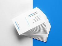 Corporate Business Card Design.