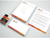 Colorfly Stationary Package (Corporate identity)