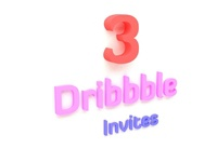 3 Dribbble Invitations!!!