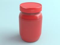 3D Pickle Jar