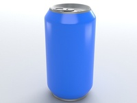 3d soda can