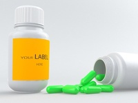 3D Pharmacy bottle design