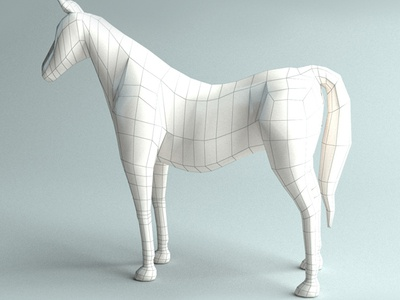 3D Horse base model horses horse head game forest character base mesh base horse animal anatomy 3ds max 3ds 3d model 3d 3d product design design dribbble creative flat latest