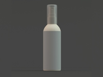 3D Product Bottle
