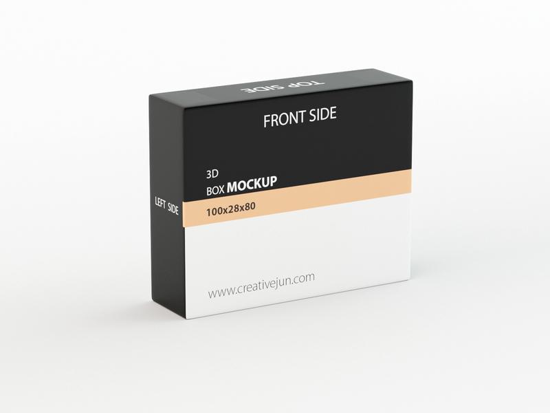 3D Product Box Mockup mockup 3d prodcut box mockups mockups mock-up 3d product design 3dsmax photoshop 3ds max 3d design dribbble creative flat latest