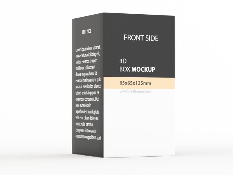 3D Box mockup mockup design mockups mockup graphic branding 3d product design photoshop 3ds max design dribbble creative flat latest