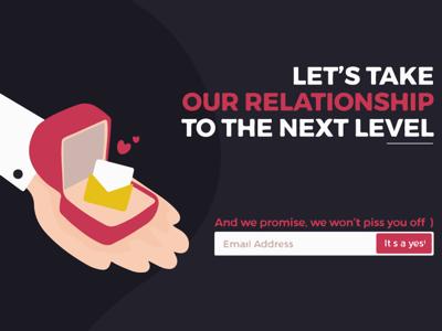 Design for Newsletter Subscription!