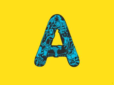 Doodled Alphabet