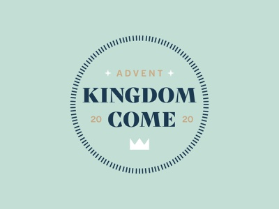 Advent Logo 2/2 typography logo design branding design christmas star christmas crown crown logo kingdom church church design advent logo advent christmas logo christmas
