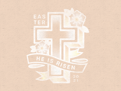 Easter 2021 retro supply co retro supply easter sunday church design church easter logo easter logo design branding design