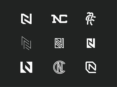 Northway Collective Concepts logotype logodesign logo design icon lettermark branding typography logo design