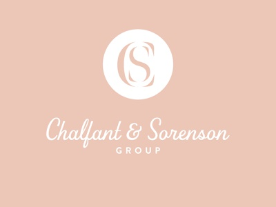 Chalfant & Sorenson Concept lettermark real estate logo design design branding