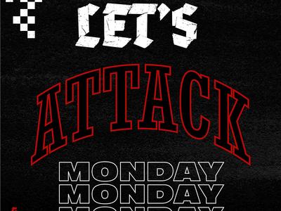 Attack Monday Screensaver