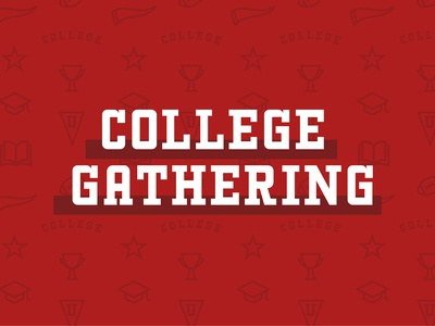 College Gathering Graphics