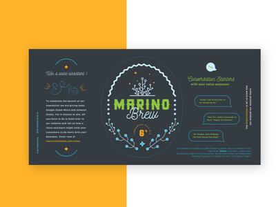 Marino Brew Label