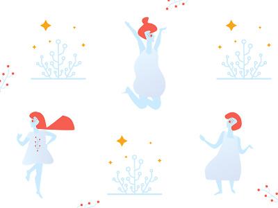 Christmas Character Illustrations marino software software characters illustration christmas