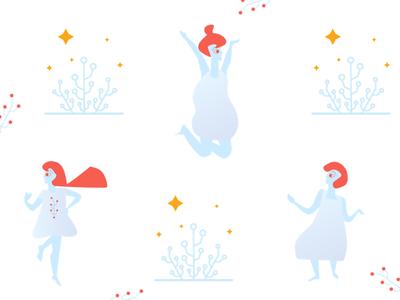 Christmas Character Illustrations