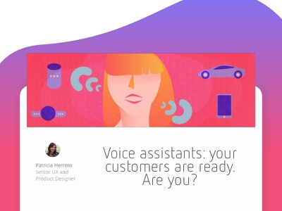 Voice assistants: your customers are ready. Are you? google home siri alexa marinosoftware software design product design voice assistant voice ai ai
