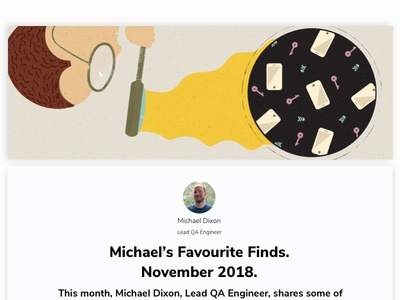 Michael's Favourite Finds