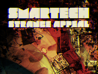 Album artwork for Smartech album cover music artwork bandcamp synthesizer tv scanlines