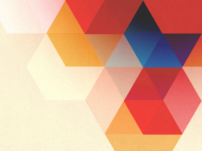 A Humble Beginning background hexagon palette colour